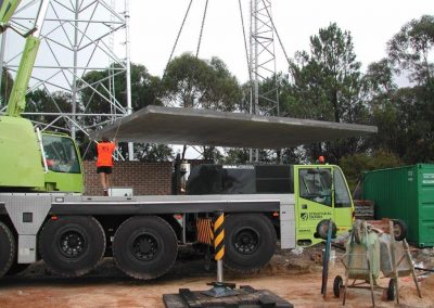 Central coast construction management, Somersby radio station