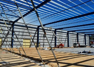 factory building construction management by Charterpac